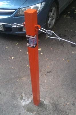 столбик на парковку