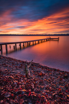 Sunrise at Lake Starnberg