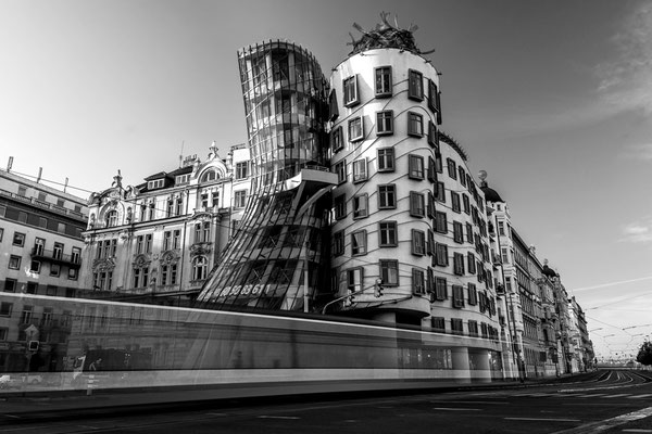 Passing by Dancing House