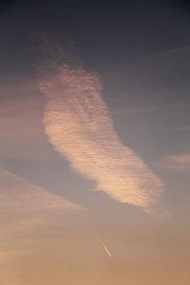 """""""Wolkenfeder"""", 18.4.2018"""