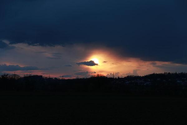 """""""Sonnen-Auge"""", 15.4.2021"""