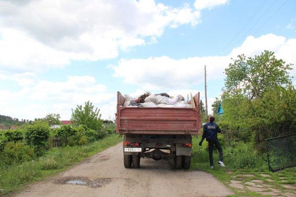 Вывоз мусора. 7 мая 2016  года