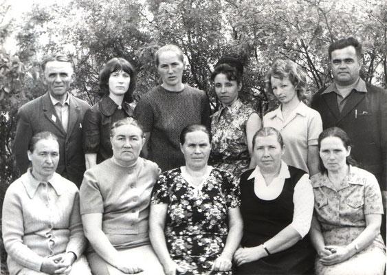 Учителя. 70-е годы