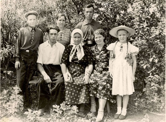 1959 год. Семейное фото