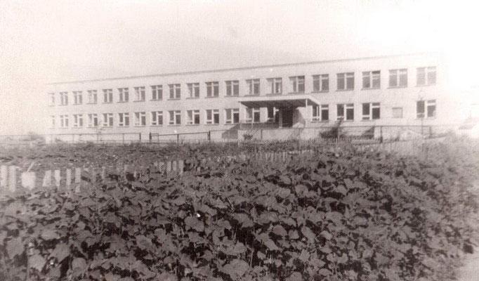 Новое здание школы. Начало 80-х