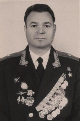 Герой Советского Союза В.Ф. Хохлачёв. 1964 г.