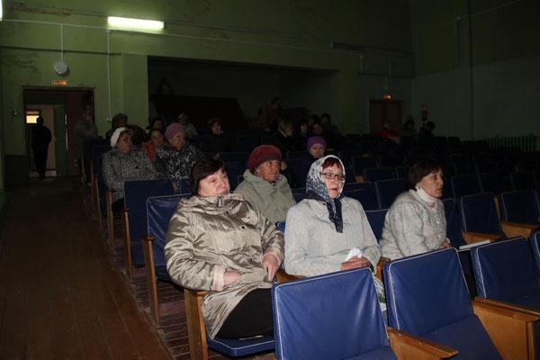 Сход граждан в Сосновке. 21 апреля 2016 года