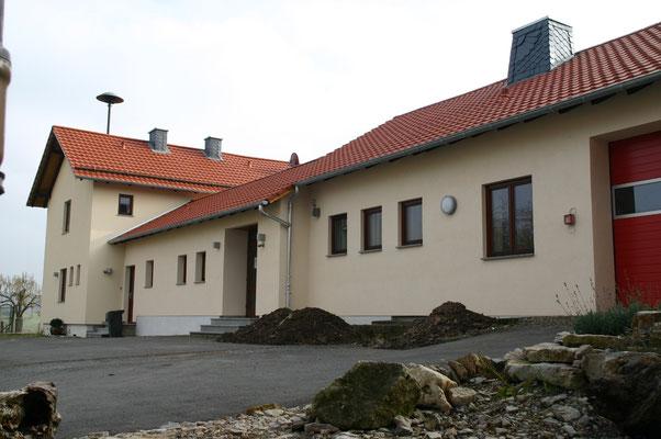 """Die Außensanierung/Dämmung des DGH """"Alte Schule"""" ist fertig"""