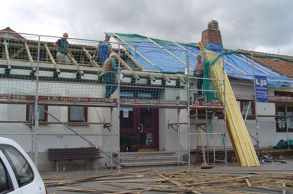 Neue Dacheindeckung DGH