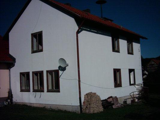 Lehrerwohnhaus am DGH vorher 1