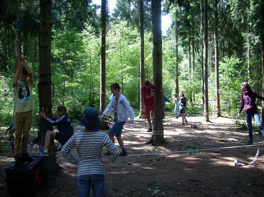 NiGa im Wald