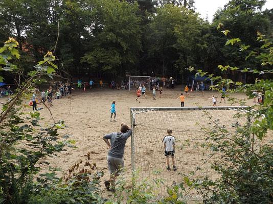 ...und Heute: Sport, Spiel, Spaß.