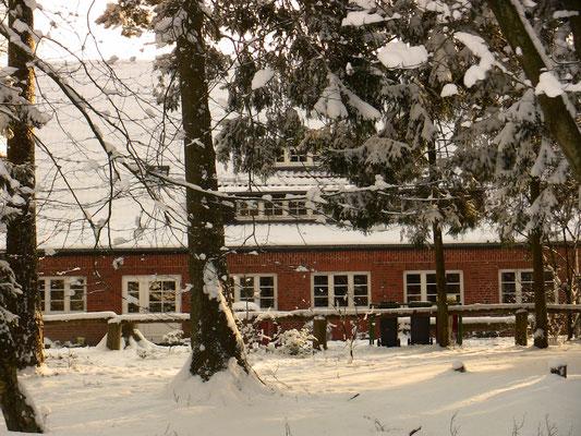IVHs Gruppenhaus im Winter