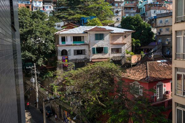 Das Kulturzentrum der Favela Pavao