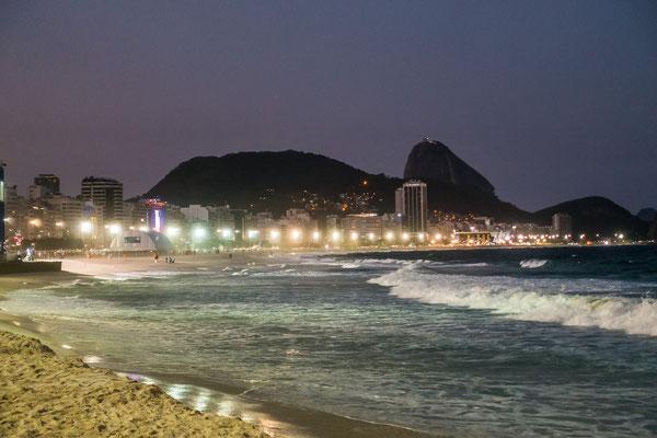 Copacabana im Abendlicht