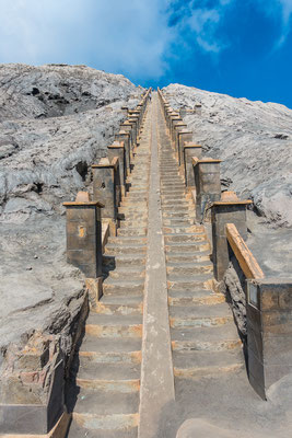 Die Treppe in die Hölle