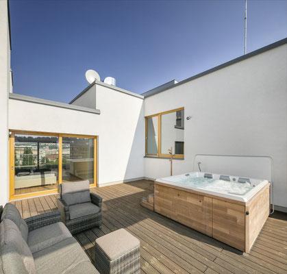 whirlpools terrasse