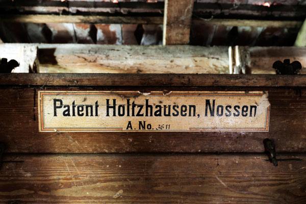 Reinigungsmaschine mit dem Patent der Firma Holtzhausen