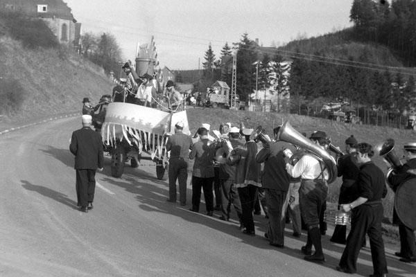 Karnevalsumzug 1961