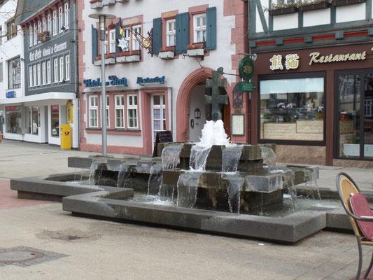 LInggbrunnen mit Doppelkreuz