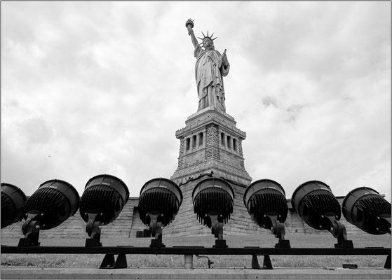 New York City: la Statua della Libertà a Liberty Island - © Massimo Vespignani