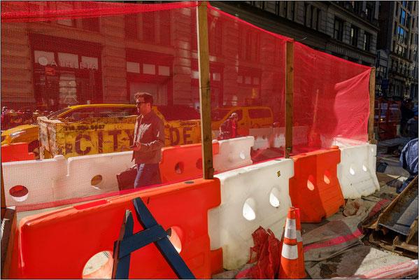 New York City: cantiere stradale - © Massimo Vespignani