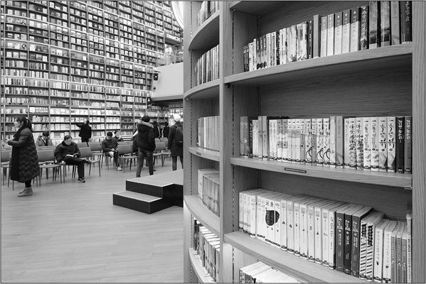 Seoul: Starfield Library (COEX) - © Massimo Vespignani