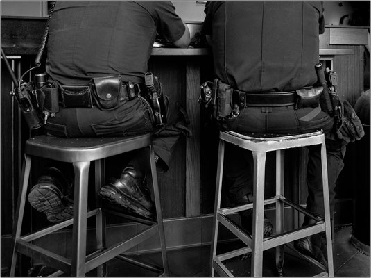 New York City: agenti del NYPD - © Massimo Vespignani