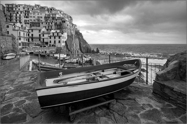 Cinque Terre: Manarola - © Massimo Vespignani