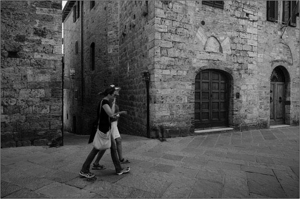 San Gimignano: via di Berignano - © Massimo Vespignani