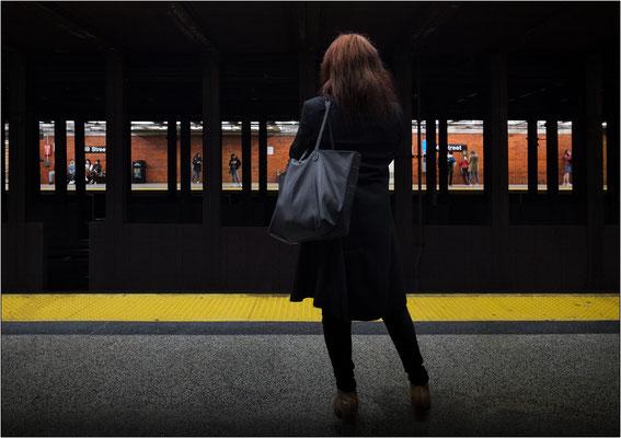 New York City: stazione metropolitana presso il Rockefeller Center - © Massimo Vespignani