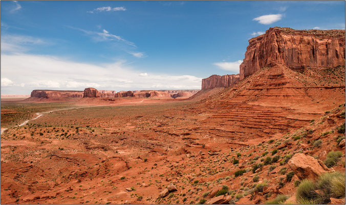 Monument Valley Navajo Tribal Park (confine Utah/Arizona) - © Massimo Vespignani