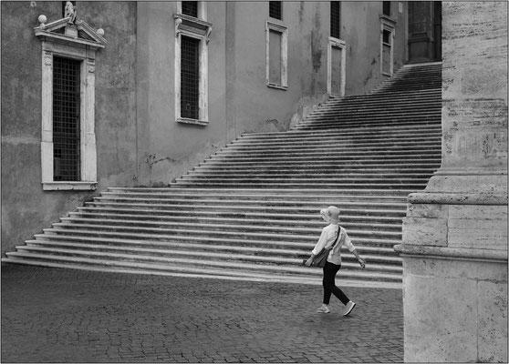 Roma: piazza del Campidoglio - © Massimo Vespignani