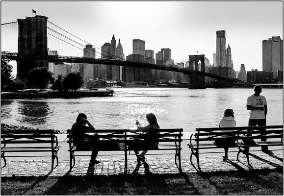 New York City: Manhattan vista da Brooklyn - © Massimo Vespignani