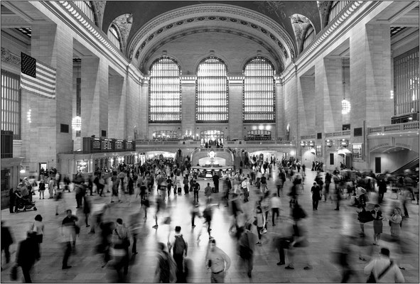 New York City: Grand Central Terminal - © Massimo Vespignani