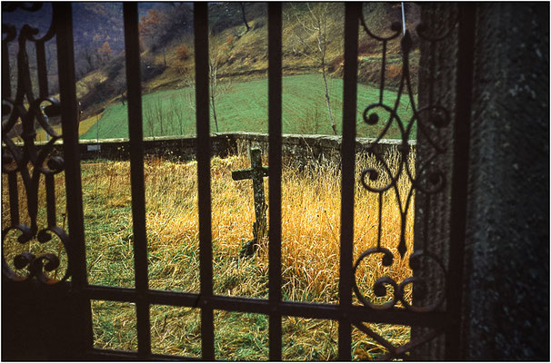 Cimitero di campagna - © Massimo Vespignani