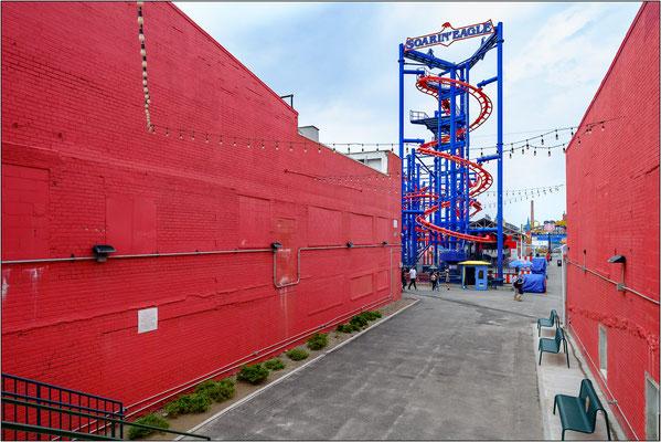 Coney Island: strutture dello storico luna park - © Massimo Vespignani