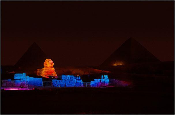 Sfinge e piramidi di Giza - © Massimo Vespignani