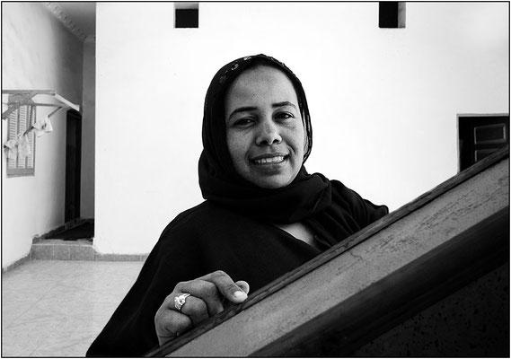 Assuan: donna di etnia nubiana - © Massimo Vespignani