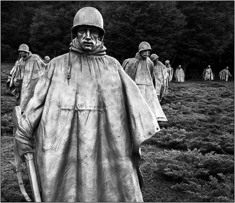 Washington: Korean War Veterans Memorial - © Massimo Vespignani