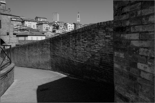 Siena: via Camporegio - © Massimo Vespignani
