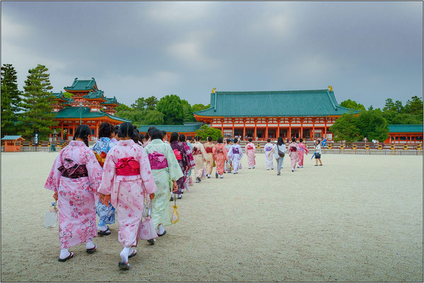 Heian Shrine - © Massimo Vespignani