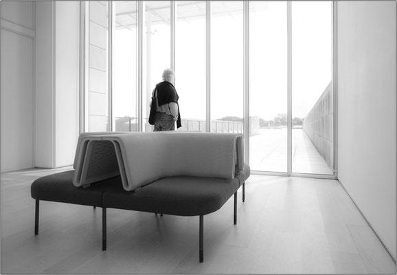 Chicago: corridoio dell'Art Institute of Chicago (Modern Wing) - © Massimo Vespignani
