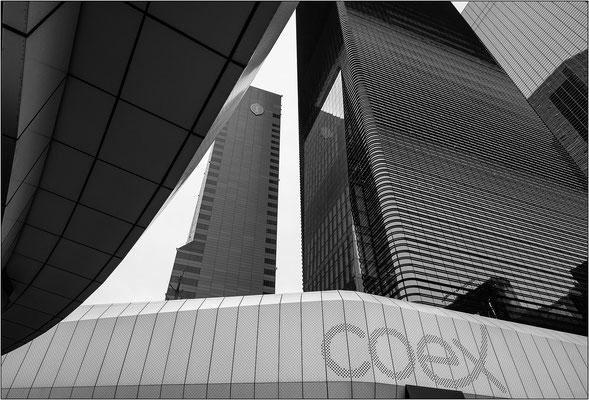 Seoul: strutture esterne del COEX - © Massimo Vespignani