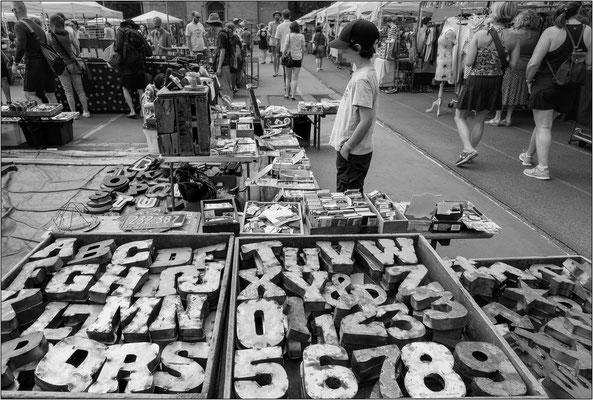 New York City: mercato delle pulci a Brooklyn - © Massimo Vespignani