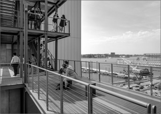 New York City: balconate del Whitney Museum of American Art - © Massimo Vespignani