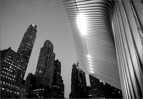 Fulton Street al World Trade Center - © Massimo Vespignani