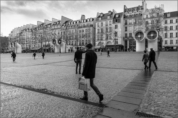 Place Georges Pompidou - © Massimo Vespignani