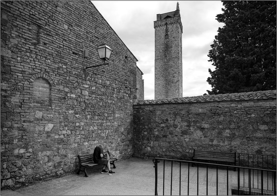 San Gimignano: la torre Grossa - © Massimo Vespignani