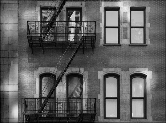 New York City: vecchio edificio nel quartiere Soho - © Massimo Vespignani